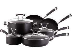 Circulon 82376 Contempo Hard Anodizing Nonstick 10-Piece Cookware Set