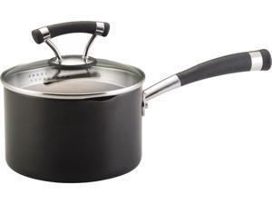 Circulon 2-qt. Nonstick Contempo Straining Saucepan
