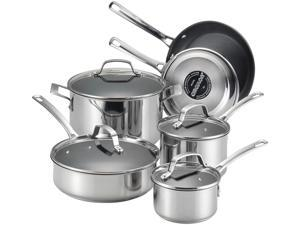 Circulon  77881  10-Piece Cookware Set  Silver