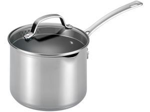 Circulon  77882  3-Quart Covered Straining Saucepan