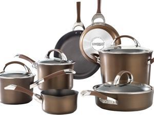 Circulon  82765  11-Piece Cookware Set, Brown  Brown