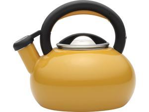 Circulon  51245  Yellow  1.5-Quart sunrise teakettle, mustard yellow