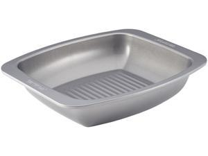 Circulon  56578  Nonstick Bakeware 6.5-Inch by 14-Inch Roaster with Self Rack, Gray