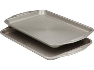 Circulon 57893 Nonstick Bakeware 2-Piece Bakeware Set, Gray