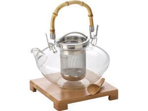 BONJOUR 53408 42 oz. Zen Glass Teapot