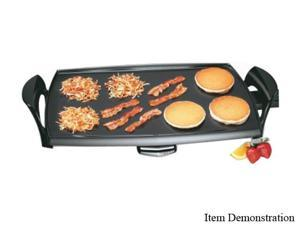 Presto 07039 22-inch Electric Griddle with Removable Handles