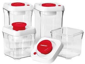 Cuisinart CFS-TC-S8R Fresh Edge Patented Vacuum-Seal Food Storage System