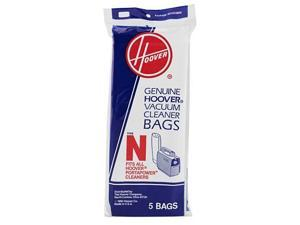 HOOVER 4010038N 5 Pack Type N Vacuum Cleaner Bag