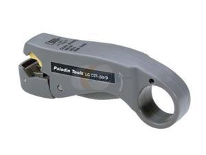 Paladin Tools 1257 LC CST Coax Stripper 2-Level (RG59/6/6 Quad: .157)