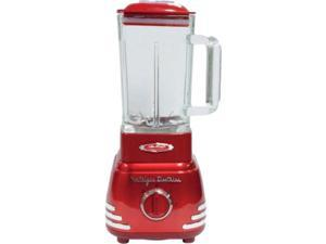 NOSTALGIA ELECTRICS RBL160 Retro Red Retro Series '50s-Style Blender 3 speeds