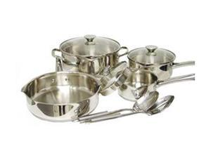 WearEver A834S974 10pc Cook & Strain Silver
