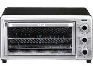 T-Fal OF170850 Black and shiny silver 6-Slice Convection Toaster Oven