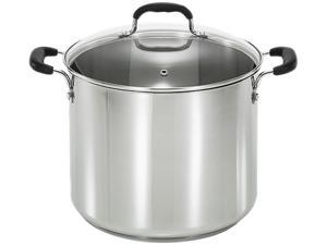 T-fal C8888164 12 qt. Stainless Steel Stock Pot