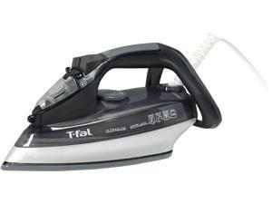 T-fal FV4495 Ultraglide Easycord Steam Iron with Ceramic Scratch Resistant Nonstick Soleplate 1725-watt, Black