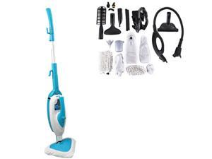 PYLE  PSTMP20  Multi-Purpose and Multi-Surface Steam Floor Mop and Detachable Handheld Steamer  Blue