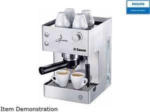 Saeco RI9376/04 Aroma Manual Espresso Machine, Stainless Steel