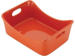 Rachael Ray  51553  Stoneware 3-Quart Rectangular Baker, Orange