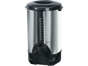 Continental Electric PS77951 Stainless steel Professional Series 50-Cup Coffee Urn
