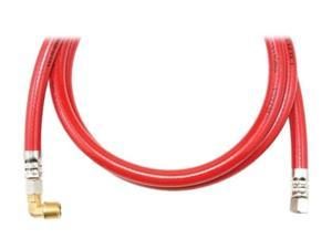 "Petra TRK472B CALFLEX Red Inner Braided PVC Dishwasher Hose (72"")"