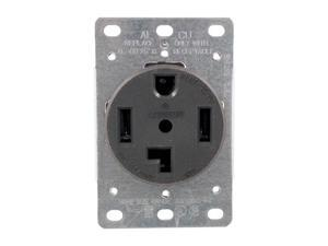 Petra GE41913 278 Single-Flush Dryer Receptacle (4 wire)