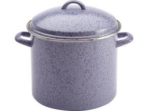 56495 Signature Enamel on Steel 12-Quart Covered Stockpot, Lavender
