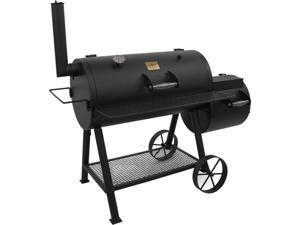 Char-Broil  Highland Offset Smoker Gril  15202026  Black