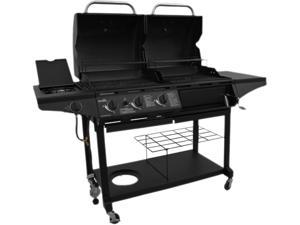 Char-Broil Charcoal Gas Combo 1010 463714514 Black