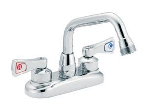 MOEN 8277 Two-handle utility faucet Chrome