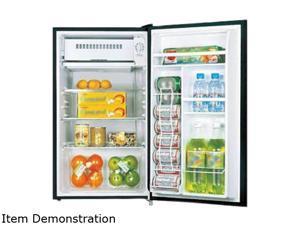 Midea 3.3 cu.ft. (92 L) Single Door Refrigerator Black HS-120LB