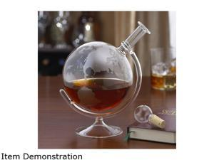 Wine Enthusiast 761 31 01 Etched Globe Spirits Decanter