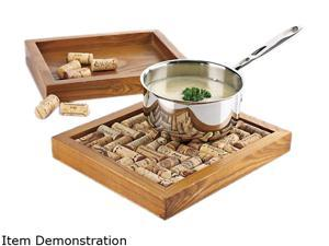Wine Enthusiast 340 73 01 Approximately 40 wine corks are required to complete trivet kit. Wine Cork Trivet Kit