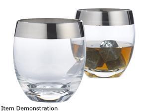 Wine Enthusiast 776 40 02 17 oz. Madison Avenue Whiskey Glasses (Set of 2)