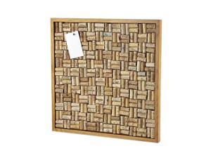 Wine Enthusiast 340 55 01 Large Wine Cork Board Kit