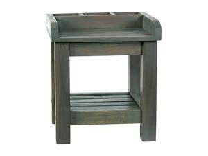 Ivena Small Gray Finish Colombo Potting Table