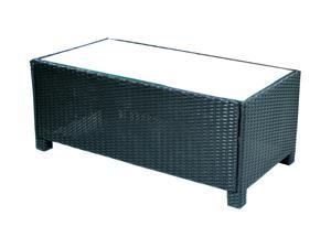 Ivena Conjunto Coffee Table with Glass Top