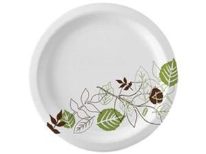 Dixie UX9WSCT Pathways Design Everyday Paper Plates - 500/Carton