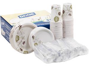 Dixie All-in-one Disposable Dinnerware Pack