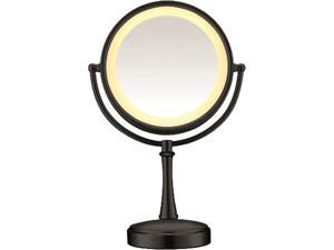 CONAIR  BE87MB  Touch Control Lighted Mirror - Matte Black