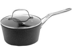 Starfrit 060315-004-0000 The Rock Saucepan With Glass Lid (2-quart)