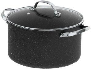 Starfrit 060317-004-0000 The Rock 6-quart Stockpot/casserole With Glass Lid