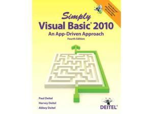 Simply Visual Basic 2010 Simply 4 PAP/DVDR Deitel, Paul/ Deitel, Harvey/ Deitel, Abbey