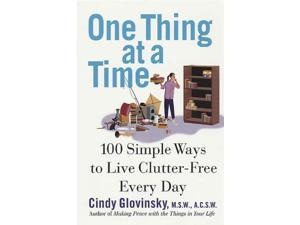 One Thing at a Time Glovinsky, Cindy