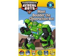 Meet Boulder the Construction-Bot Passport to Reading Auerbach, Annie (Adapted By)