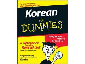 Korean for Dummies For Dummies PAP/COM BL Hong, Jungwook/ Lee, Wang-Chien (Translator)