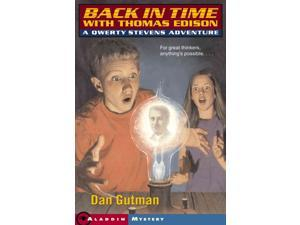 Back in Time With Thomas Edison Qwerty Stevens Adventure Reprint Gutman, Dan