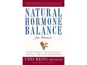 Natural Hormone Balance for Women Reprint Reiss, Uzzi/ Zucker, Martin