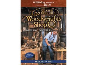 Classic Episodes, the Woodwright's Shop (Season 23) The Woodwright's Shop DVD Underhill, Roy