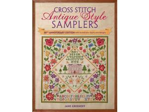 Cross Stitch Antique Style Samplers ANV Greenoff, Jane