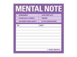 Mental Note NPD Knock Knock