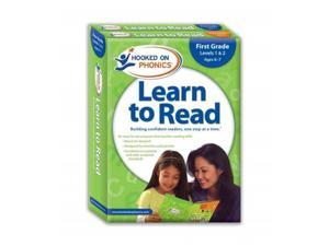 Hooked on Phonics Learn to Read 1st Grade Complete Workbook Hooked on Phonics (Corporate Author)